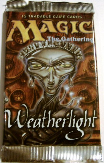 Magic the Gathering Weatherlight Booster Pack MTG