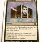 Persecute 151/350 rare 8th edition mtg black card