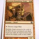 Dwarven Demolition Team 184/350 8th edition red uncommon single
