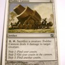 MTG single Fodder Cannon 302/350 Uncommon Artifact 8th Edition Card