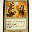 Manacles of Decay 14/143 white Apocalypse mtg common enchant creature card