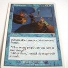 Evacuation 72/350 rare blue 7th edition card