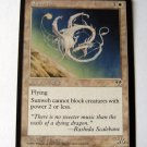 Sunweb from Mirage white rare magic card