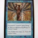 Shimmering Wings blue common tempest enchant creature card