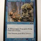 Whiptongue Frog 52/143 Summon Frog blue exodus card