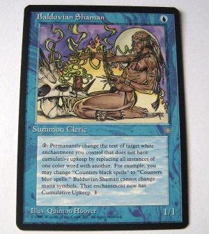 Balduvian Shaman Summon Cleric Common Blue Ice Age