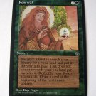 Renewal green sorcery Homelands common card