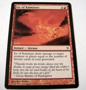 Ire of Kaminari 109/165 red Betrayers common card