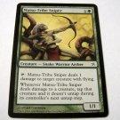 Matsu-Tribe Sniper 136/165 green Betrayers common card