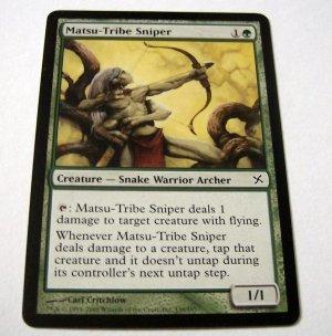 Matsu-Tribe Sniper 136/165 green Betrayers common card