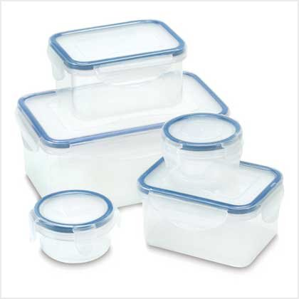 Storage Container Set - 10 Pc