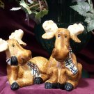 Salt & Pepper Shakers - Moose