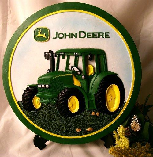 John Deere Stepping Stone Cab Tractor