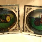 Clock Glass- Tractor Set/2