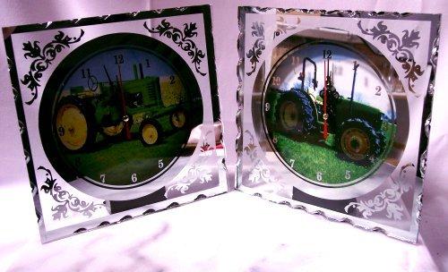 Clock Glass Fibre Optic Tractor SET/2