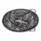 Pewter Flying Eagle Belt Buckle