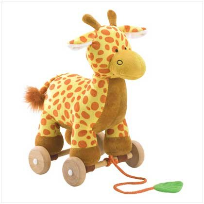 Tug-Along Toy Giraffe