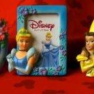 Set /3 Tinker Belle Cinderella, & Belle Picture Frames