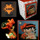 Betty Boop Limited Edition Roses Cookie Jar