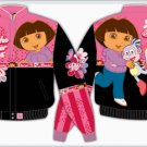 "2008 DORA THE EXPLORER ""BEST FRIENDS"" KIDS PINK TWILL JACKET"