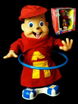 Alvin the Chipmunk Hula Hoop Singing Doll