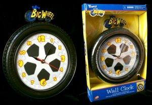 Big Wheel Motorized Collector's Clock