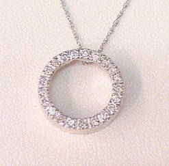Circle of Life Pendant with Diamonds