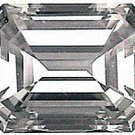 1.00CT FLAWLESS EMERALD-CUT SIMULATED DIAMOND