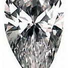 1.00CT FLAWLESS PEAR CUT SIMULATED DIAMOND