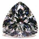1.00CT FLAWLESS TRILLION CUT SIMULATED DIAMOND