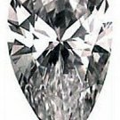 1.50CT FLAWLESS PEAR CUT SIMULATED DIAMOND