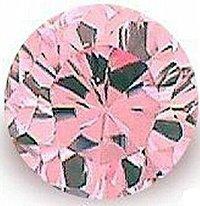 2.00CT PINK ROUND CUT SIMULATED DIAMOND
