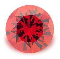 2.0CT FLAWLESS BRILLIANT CUT RUBY SIMULATED DIAMOND