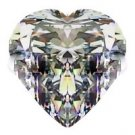2.00CT FLAWLESS HEART CUT SIMULATED DIAMOND