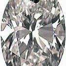 3.00CT FLAWLESS OVAL CUT SIMULATED DIAMOND