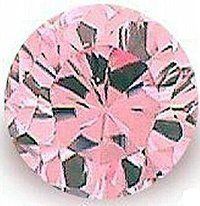 3.00CT PINK ROUND CUT SIMULATED DIAMOND