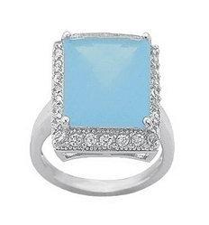 4.00ct EMRALD CUT SIMULATED DIAMOND ENGAGEMENT WEDDING RING
