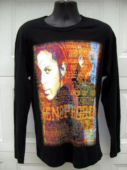 SOLD! Rare Prince 2002 Xenophobia Long Sleeve T-Shirt Medium/Large BEAUTIFUL!