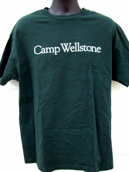 SOLD! RARE Paul WELLSTONE Large T-SHIRT  Minnesota (MN) Camp Wellstone