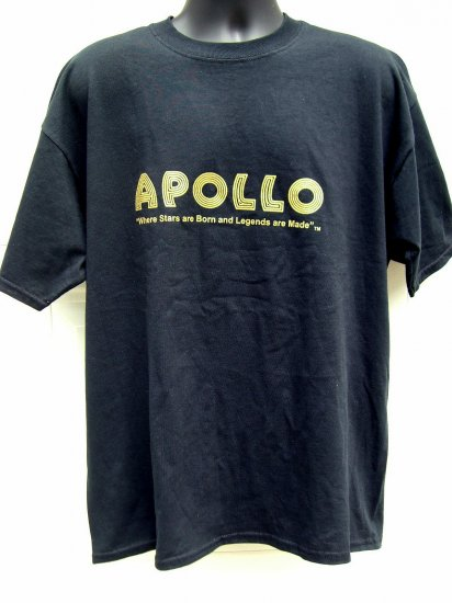 SOLD! APOLLO THEATER XL T-Shirt Harlem New York City NYC  EXCELLENT