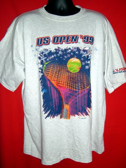 SOLD!! New 1999 U.S. US Open Tennis USTA  NEW XL T-Shirt NWT New York NYC