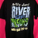 Vintage BILLY JOEL Concert Tour Large T-Shirt 1993-1994  River of Dreams