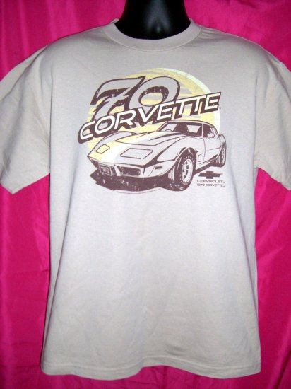 HOLD RETRO CLASSIC 1970 CORVETTE Size Medium T-Shirt