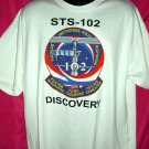 Rare DISCOVERY STS 103 from 2001 NASA SPACE SHUTTLE MISSION XL T SHIRT