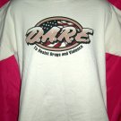 "D.A.R.E. DARE Medium/Large Cream T-Shirt ""To Resist Drugs and Violence"""