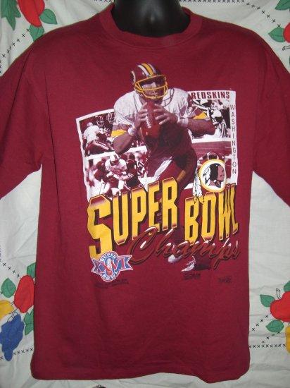 SOLD! Vintage 1992 Super Bowl XXVI Washington Redskins Large T-Shirt EXCELLENT!