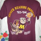 ON SALE!  Vintage Goldie Gopher U of M ~ University of Minnesota Small T-Shirt 1993 1994 School Year