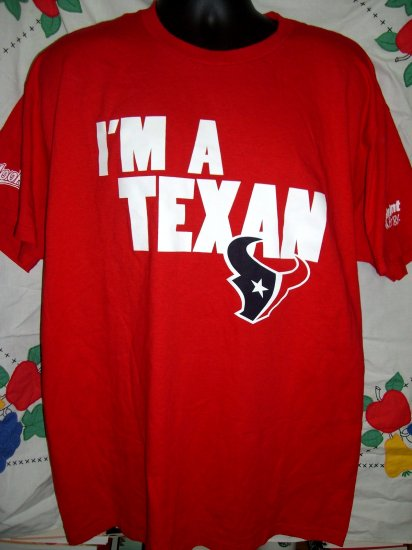 I'M A TEXAS XL Red T-Shirt LONGHORN TX LONGHORNS