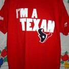 I'M A TEXAS XL Red T-Shirt LONGHORN TX LONGHORNS