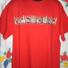 "Red XXL (2XL) T-SHIRT BEER ""LIFE IS FULL OF IMPORTANT CHOICES"" Beer Bottles"